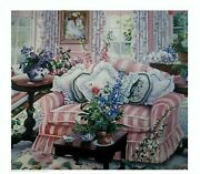 Susan Rios Serigraph Signed Numbered Rare Ltd Edition Coming Home
