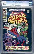 Marvel Super-heroes 14 - Cgc Graded 4.5 Vg+ 1968 - Silver Age