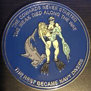 U.s. Navy Scuba Diver Challenge Coin. Authentic. Rare Awesome