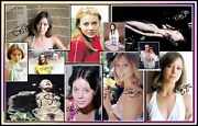 Jenny Agutter Signed Collage Cotton Canvas Image. Limited Edition Ja-2