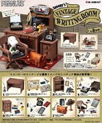 Pre-sale [re-ment] Peanuts Snoopy 's Vintage Writing Room 8 Pieces Box