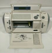 Cricut Crv001 Personal Electronic Cutter Tested With Cord