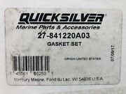 New Mercury Outboard Engine Gasket Set Unopened Part 27-841220a03