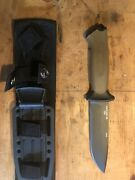 Gerber Prodigy Coyote Brown Fixed Blade Knife-made In Usa