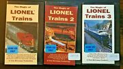 The Magic Of Lionel Trains Volumes 1-3 Vhs Box Set + Free Dvd - Model Toy Hobby