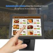 15 Tft-lcd Capacitive Touch Screen Display Cash Register Touch A Carte Black