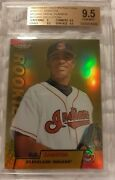 1999 Finest Cc Sabathia Gold Refractor Rookie Card Rc /100 Bgs 9.5 No Serial
