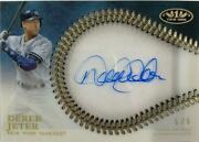 Mlb Card 2018 Derek Jeter Topps Definitive Collection Clear One Autographs 5/5