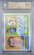 Bgs 9.5 2012 Topps Chrome Andrew Luck Rc Rookie /10 1957 Refractor Patch Auto 10