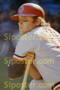 1972 Graig Nettles Cleveland Indians Poster Sports Illustrated Si Like Photo