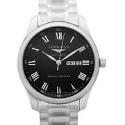 Longines The Longines Master Collection L29204516 Black Dial Menand039s Watch