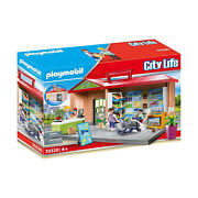 Playmobil City Life Take Along Grocery Store Building Set 70320 New In Stock