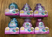 Lot Of 6 Pikmi Pops Surprise Cheeki Puffs Scented Shimmer Puff And Powder Toy
