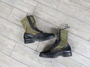 1960s Vintage Vietnam Ro-search Jungle Boots 8 R Combat Us Army Military Leather