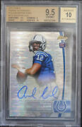 Bgs 9.5 - 2012 Finest Andrew Luck Rc 110 03/10 Pulsar Refractor Auto 10 W/10