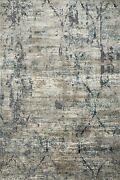 12and039 0 X 15and039 0 Loloi Rug Cascade Taupe Blue 85 Viscose 15 Polyester Hand Loom