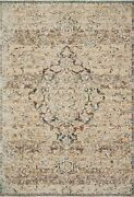 9and039 6 X 13and039 1 Loloi Rug Lourdes Ivory Multi Polyester Viscose Pile Hand Knotted