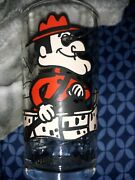 Dudley Do-right Of Rocky And Bullwinkle Drinking Glass - Rare Pepsi