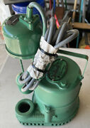 Hydromatic Sv-25a 1/4 Hp Cast Iron Submersible Sump Pump...new In Box...l@@k