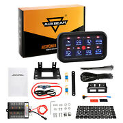 Auxbeam 8 Gang Switch Panel On-off Led Car Switch Panel Circuit Control 12v/24v