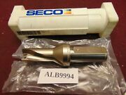 Seco 21.50mm Sd502-21.50-43.0-25r7 Indexable Insert Drill Alb 9994