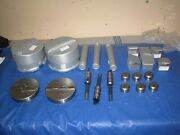 Amada Thick Turret Tooling Punch And Dies 22997k, 42704a, 22104k Lot Of 11 Pcs