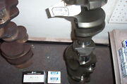 350 Sbc Crankshaft Large Journal Turned .030 R0ds,mains .010 With New Bearings