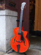 Used Eastman 11 Ar-805ce W Red Electric Guitar Free Shipping