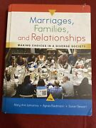 Marriages Familes And Relationships 13th Edition Minor Cover Damage From Shipped