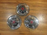 1954 Packard Clipper Hubcaps/wheel Covers Set Of Three