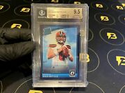 Baker Mayfield 2018 Optic Rated Rookie Purple Parallel 6/50 Rc Gem Mt Bgs 9.5