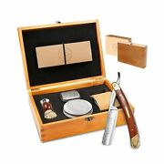 Amazing Straight Razor Kit - Men Gifts,everything In One Box,quality Shave At...