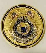 Sought After-2017 National Law Enforcement Officers Memorial -challenge Coin