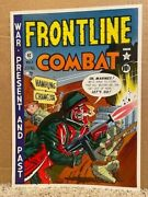 5 Ec Frontline Combat Two-sided Cover Art Posters From 1979 All Nm