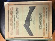 Folsom Arms Co 1927 Catalog 25 Nyc Marbles Knives Winchester Colt Original