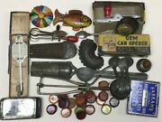 Old Kitchen Junk Drawer Wholesale Lot Metal Sand Toy Ice Cream Bottle Caps 40