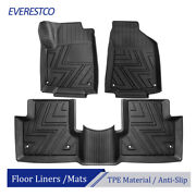 Front And Rear Tpe Rubber Floor Mats Liners For Jeep Renegade 2015-2020 Waterproof