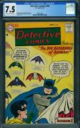 Detective Comics 244 Cgc 7.5 Ow-w Pages Dc 1957