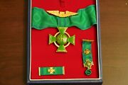Cross Of The Venezuelan Air Force 1st Class With Case