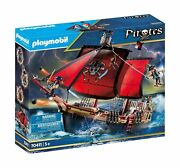 Playmobil Pirates 70411 Skull Pirate Ship, For Children Ages 5+