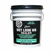 Glaze And039n Seal Clearwet Look Wb Sealer Gallon 5 Gallon 174