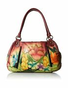 Anna By Anuschka Womenandrsquos Genuine Leather Ruched Hobo Shoulder Bag - Original ...