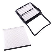 2 Car Engine Cabin Air Filter Fit For Toyota Prius 2004-2009 L4 1.5l 87139-47010