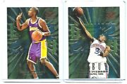 🔥 1996-97 Skybox Z-force Zebut Rc Lot Allen Iverson 8 And Kobe Bryant 3