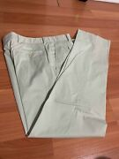 Menand039s Golf/dress Pants Tan Us 32 New Without Tags