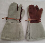 Wwii Imperial Japanese Army Extreme Cold Weather Mitten Gloves