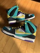 Nike Zoom Air Oncore 6.0 High Top Men's 9 Shoes 354704-171 Sb