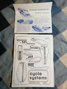 1975 Cycle Systems First Parts List Manual Catalog Cafe Racer Motorcycles