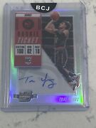 Trae Young 2018 Contenders Optic 124 Facing Right Auto Rookie Rc Bgs 9 10