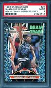 💎 1992 Stadium Club Shaquille Oandrsquoneal Members Only Beam Team - Psa 9 Mint